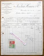 Groothandel In Papier, Jos. Van Houwe & Cie, Roeselare 1930 - Belgium