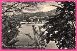Kandy - Queen's Hotel Across The Lake - Edit. PLATE Ltd N° 135 - Sri Lanka (Ceylon)