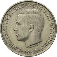 Monnaie, Grèce, Constantine II, 10 Drachmai, 1968, SUP, Copper-nickel, KM:96 - Grèce