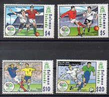 Iles SALOMON  Timbres Neufs ** De 2006 ( Ref 5557 ) Sport - Football - Solomon Islands (1978-...)