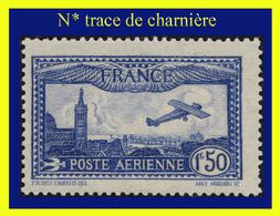 POSTE AÉRIENNE N° 6 - AVION SURVOLANT MARSEILLE 1930 - N* TRACE DE CHARNIÈRE - - 1927-1959 Ungebraucht