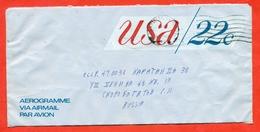 United States 1977.Aerogramma  Is Really Past Mail. - United States