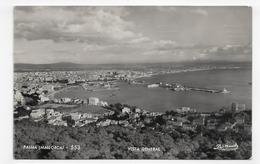 (RECTO / VERSO) MALLORCA - PALMA EN 1957 - N° 553 - VISTA GENERAL - FORMAT CPA VOYAGEE - Mallorca