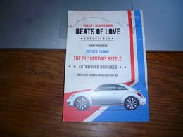 BC5-2-1 LC200 CPM Volkswagen Beetle Coccinelle Cox Beats Of Love - Cyclisme