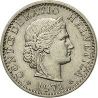 Monnaie, Suisse, 20 Rappen, 1971, Bern, TTB, Copper-nickel, KM:29a - Suiza