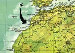 Agadir   Plan Du Maroc  RV - Maps