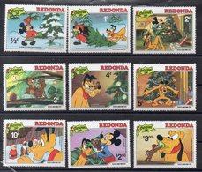 REDONDA  Timbres Neufs ** De 1981  ( Ref 5563 )  Disney - Noël - Autres - Amérique