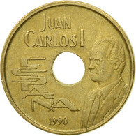 Monnaie, Espagne, Juan Carlos I, 25 Pesetas, 1990, Madrid, TB+, Aluminum-Bronze - [ 5] 1949-… : Royaume