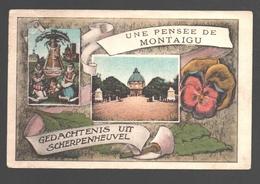 Scherpenheuvel / Montaigu - Une Pensée De Montaigu / Gedachtenis Uit Scherpenheuvel - 1933 - Scherpenheuvel-Zichem
