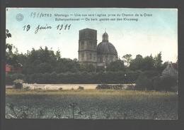 Scherpenheuvel / Montaigu - De Kerk Gezien Van Den Kruisweg - 1911 - Gekleurd / Colorisée - Scherpenheuvel-Zichem