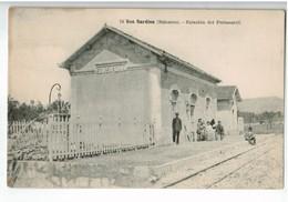 22237  CPA   SON SARDINA  : Estacion Del Ferrocarril ! - Mallorca
