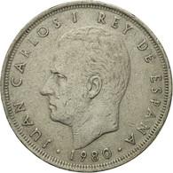 Monnaie, Espagne, Juan Carlos I, 25 Pesetas, 1980, TB+, Copper-nickel, KM:818 - [ 5] 1949-… : Royaume