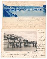 Lot De 2 CPA Pionnières Dos Non Divisés : NAMUR -  Pont De Jambes - 1899 - Namen