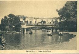 Carte Photo De  BUENOS AIRES  (  Argentine  )   Lagos De Palermo. - Argentine