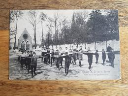 """CP Tournai 1910 """"Collège N.D. De La Tombe, Une Leçon De Gymnastique"""" - Tournai"""