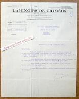Laminoirs De Thiméon, Rue Des 4 Vents, Bruxelles 1931 - Belgium