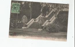 CAMBODGE 1609 PHNOM PENH ESCALIER MONUMENTAL CONDUISANT A LA PAGODE DU PHNOM - Cambodia