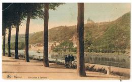 CPA : Vue Prise à Jambes - Boulevard De La Meuse Avec Ses Grands Arbres - 3 Enfants - Vue Vers La Plante - Namur