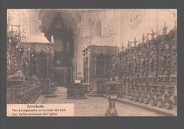 Averbode - Het Kunstgestoelte In Het Koor Der Kerk - Scherpenheuvel-Zichem