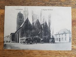 """CP Tournai 1914 """"L'Eglise St. Brice"""" - Tournai"""
