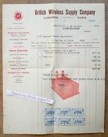 British Wireless Supply Company, Ex (rue De L'Arbre) Bruxelles 1925 - Belgium