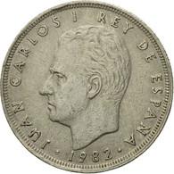 Monnaie, Espagne, Juan Carlos I, 25 Pesetas, 1982, TTB, Copper-nickel, KM:824 - [ 5] 1949-… : Royaume