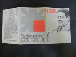 7b) TESSERA CGIL 1977 - Documenti Storici