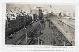 (RECTO / VERSO) CADIZ - N° 230 - AVENIDA DE RAMON DE CARRANZA - FORMAT CPA VOYAGEE - Cádiz