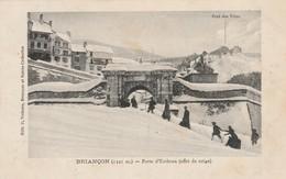 Hautes-alpes : BRIANCON : Porte D'embrun ( Effet De Neige ) - Briancon
