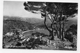 (RECTO / VERSO) MALLORCA - PUERTO DE SOLLER - VISTA PARTIAL - TIMBRES - FORMAT CPA VOYAGEE - Mallorca