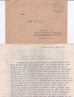 German Feldpost WW2: From Darss On Fischland-Darss-Zingst - Batterie Erhard Schmidt (Marine-) (was Earlier Called Marine - Militaria