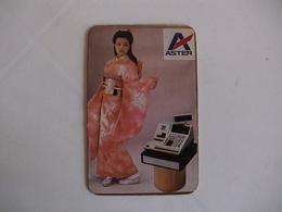 Japan Girl Portugal Portuguese Pocket Calendar 1987 - Small : 1981-90