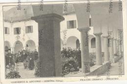 GEMONA Del FRIULI (UDINE) - Convento Di  Di S. Antonio  - Fratini Chierici Nel Chiostro - Udine