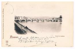 CPA Pionnière Dos Non Divisé: NAMUR  Le Pont De Jambes - Namur