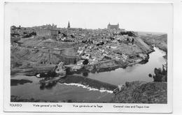 (RECTO / VERSO) TOLEDO - VISTA GENERAL Y RIO TAJO - FORMAT CPA VOYAGEE - Toledo