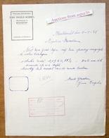 Mekanieke Meubelmakerij, Jean Engels-Rosseel, Merodestraat, Kieldrecht 1948 - Belgium