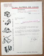 Firma Alfred De Cock, Werktuigkundige, St-Michielsstraat, Gent 1943 - Belgium