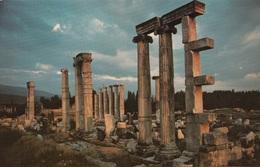 Turchia Turkey Afrodisia - Rovine Del Tempio Di Afrodite - Temple Of Aphfrodite - Monuments