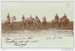 PEER ..-- MILITARIA ..-- Officiers . Uniformes . 1904 Vers GAND ( Melle M. BRICUSSE ) . Voir Verso . - Peer