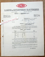 "Lampes Et Entreprises Electriques ""Sigtay"" Rue Edmond Dedeyn, Ninove 1945 - Belgium"