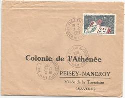 Env. Entière - Paris XVIème - 17-12 1963 - Cartas