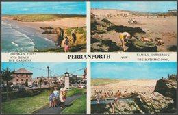 Multiview, Perranporth, Cornwall, C.1970 - Harvey Barton Postcard - Other