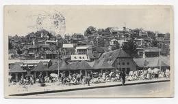 (RECTO / VERSO) MADAGASCAR EN 1948 - TANARIVE - LE ZOMA - Ed. BABEL - PETIT PLI ANGLE BAS A DROIT - FMT 160 X 88 VOYAGEE - Madagascar