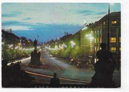 (RECTO / VERSO) PRAHA - PRAGUE - PLACE SAINT VENCESLAS - CPSM GF VOYAGEE - Czech Republic