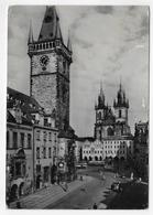 (RECTO / VERSO) PRAHA - PRAGUE EN 1959 - STAROMESTSKA RADNICE A TYN - BEAU TIMBRE - CPSM GF VOYAGEE - Czech Republic