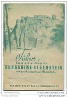 Blankenburg - Führer Durch Die Burgruine Regenstein - 16 Seiten - Saxe