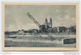 Magdeburg - Dom Von Der Zitadelle 30er Jahre - Magdeburg