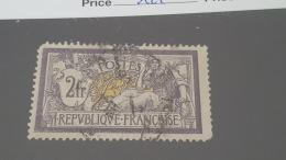 LOT 411123 TIMBRE DE FRANCE OBLITERE N°122 VALEUR 90 EUROS - France