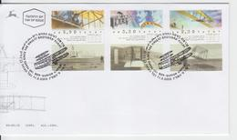 ISRAEL 2003 AVIATION AIRPLANE THE WRIGHT BROTHERS FLIGHT FDC - FDC