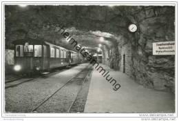 Jungfraubahn - Station Jungfraujoch - Foto-AK 50er Jahre - BE Berne